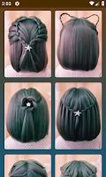 screenshot of Hairstyles for short hair