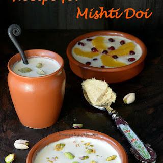 Recipe for Mishti Doi | Bengali Sweet Yoghurt | Meetha Dahi.