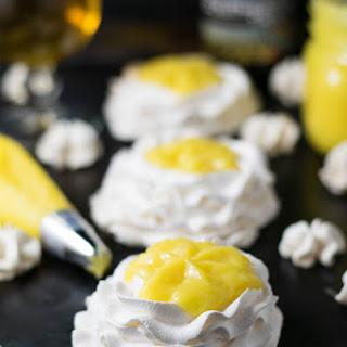Tangerine IPA and Meyer Lemon Curd Meringue Nests Recipe
