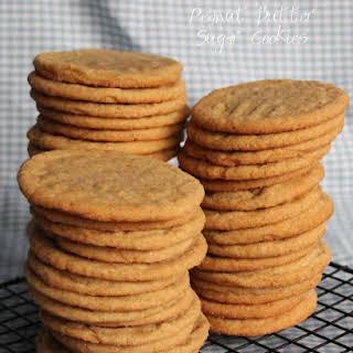 Peanut Butter Sugar Cookies.