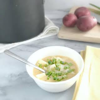 Grandma's Cheesy Potato Soup.