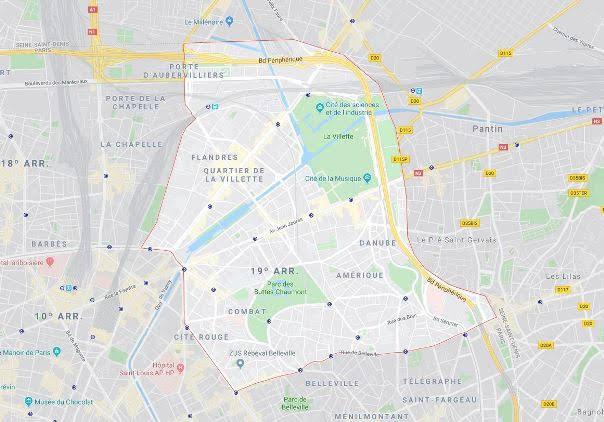 19º arrondissement des Buttes-Chaumont