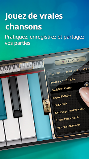 Piano - Jeux de musique cool pour clavier magique  captures d'écran 4
