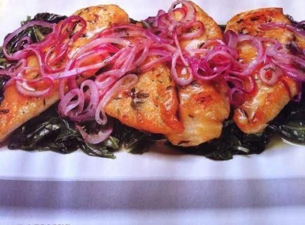 Lemon-onion Chicken