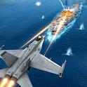 Real City Jet Plane Flying Pilot - Worrier Battle icon