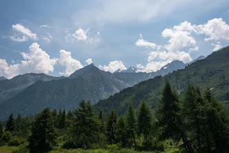 Photo: Najdalej widoczny Cima di Vermiglio 3458 m