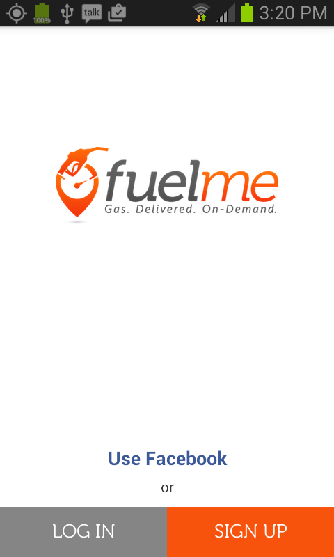 FuelMe- screenshot