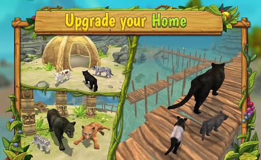 Panther Family Sim Online - Animal Simulator  screenshots 4