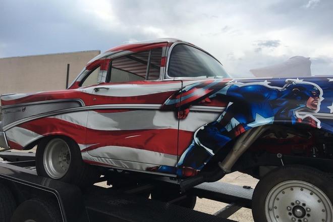1957 Chevrolet Gasser Hire LA