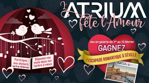 L'Atrium fête l'Amour