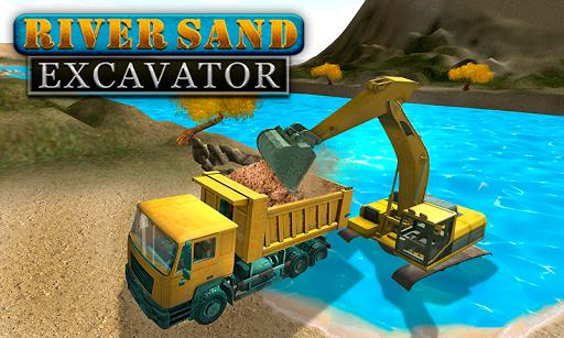 River Sand Excavator Simulator