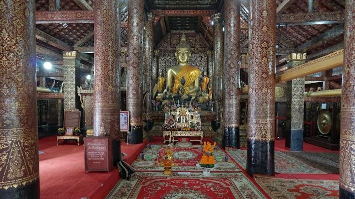 Vat Xieng Thong in Luang Prabang.
