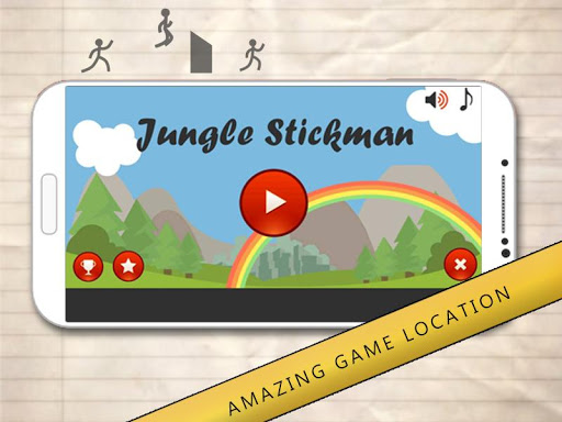 Stickman Jungle Run