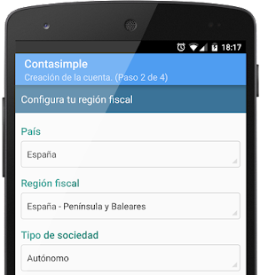 Contasimple- screenshot thumbnail