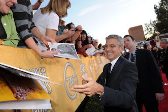 Photo: LOS ANGELES, CA - JANUARY 29:  Actor George Clooney attends The 18th Annual Screen Actors Guild Awards broadcast on TNT/TBS at The Shrine Auditorium on January 29, 2012 in Los Angeles, California. (Photo by Dimitrios Kambouris/WireImage) 22005_007_DK_0812.JPG *** Local Caption *** George Clooney