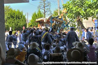 Photo: 【平成21年(2009) 本宮】  中村病院慰問。入院されている皆様の前で神輿をもむ。