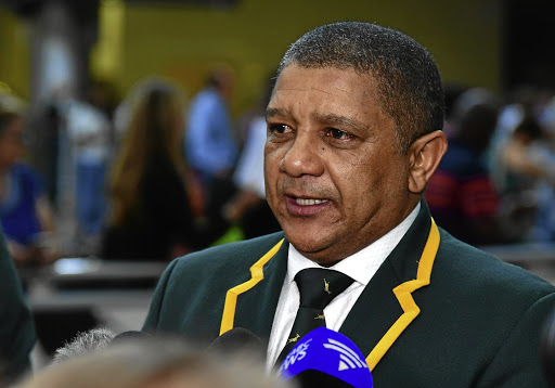 Feedback: Allister Coetzee reported to SA Rugby. Picture: GALLO IMAGES
