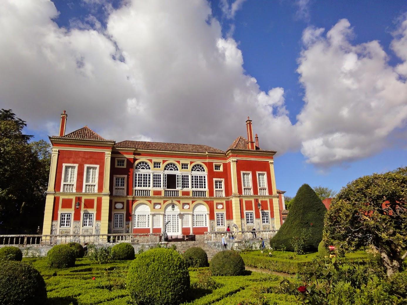 Palais des marquis de Fronteira à Lisbonne