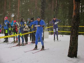 Photo: Юра рубится с Ильей на финише 1 этапа