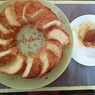 Moroccan cake (Meskouta)