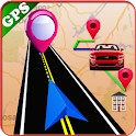 GPS Navigation, Route Planner, Maps & Street View icon