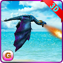 Flying Fire Dragon Simulator icon
