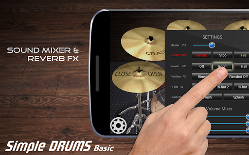 Simple Drums Basic - Virtual Drum Set 1.2.9 screenshots 3