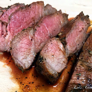 Herb Crusted Pan-Fried London Broil