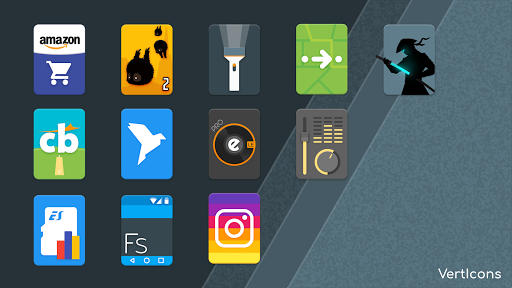 Screenshot for Verticons Icon Pack in United States Play Store