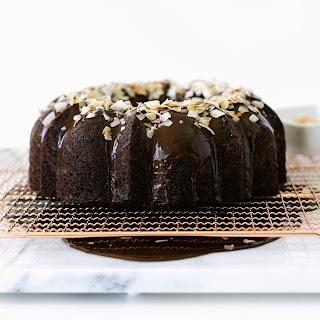 Dark Chocolate Coconut Bundt Cake.