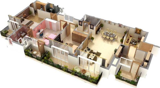 3d home floor plan designs android apps on google play 3d model house design