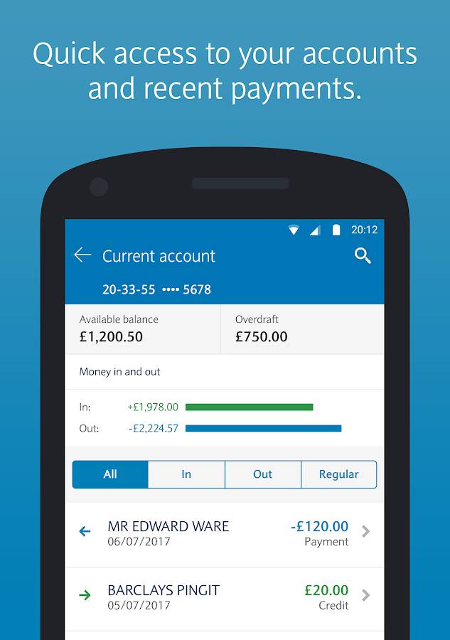 how to get barclays mobile banking activation code