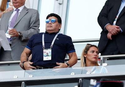 📷 Surréaliste !  Diego Maradona a coaché comme un roi la veille de son anniversaire