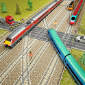 Indian Train City Pro Driving 2 - Train Game icon