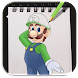 How to Draw Super Mario Advanced