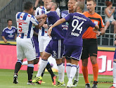 Potjes kookten even over in Anderlecht tegen Heerenveen