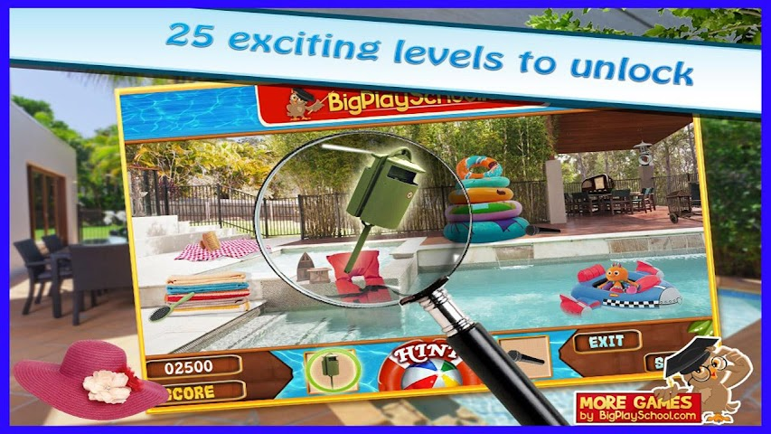 android A Pool - Finding Hidden Object Screenshot 1