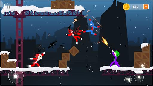 Code Triche Spider Stick Fight - Stickman Fighting Games APK MOD (Astuce) screenshots 1