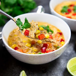 Tex-Mex Chicken Corn Soup.