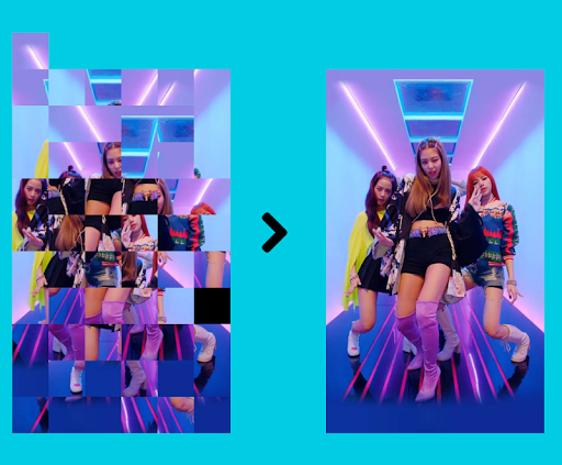BlackPink Puzzles Game : Offline, Free android2mod screenshots 1