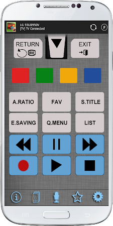 TV Remote for LG 1.20 screenshot 639702
