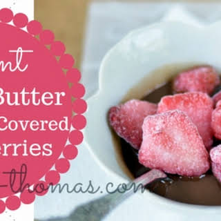 Instant Peanut Butter Chocolate-Covered Strawberries.
