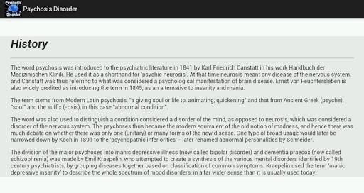Psychosis Disorder Lietotnes (APK) bezmaksas lejupielādēt Android/PC/Windows screenshot