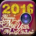 Happy New Year 2016 icon