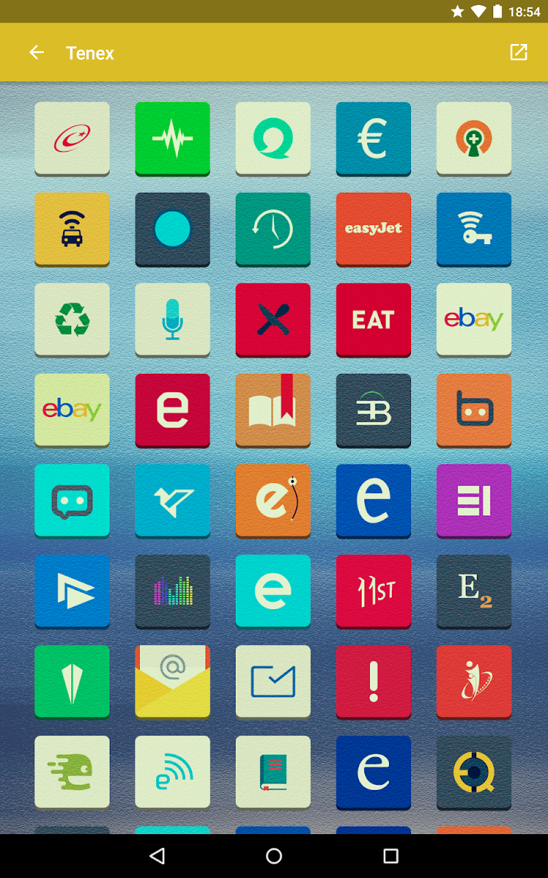 Tenex - Icon Pack Screenshot 11