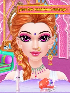 Indian Makeup and Dressup- gambar mini tangkapan layar