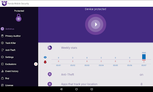 Free Antivirus and Security - screenshot thumbnail