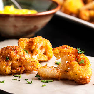Pan Fried Spanish Cauliflower Tapas.