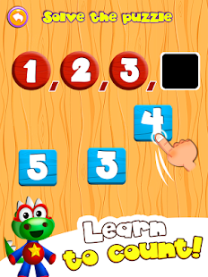 Dino Tim: Preschool basic skills, numbers & shapes - náhled