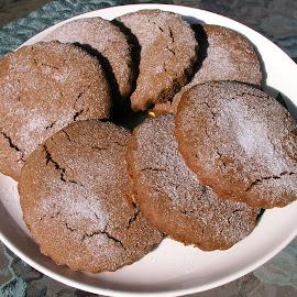 Homemade Molasses Cookies by Rita Goebert - Food & Drink Cooking & Baking ( genesee country village & museum; agricultural fair; rolled molasses cookies,  )